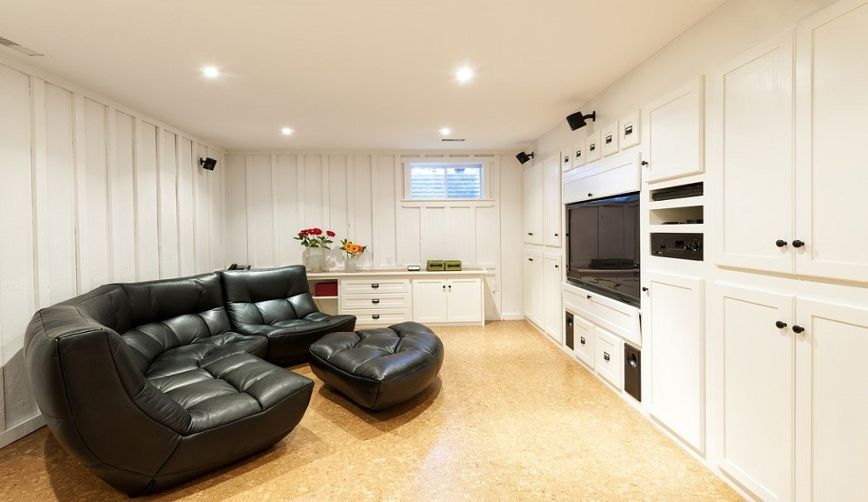 Looking for an idea for basement refinishing?