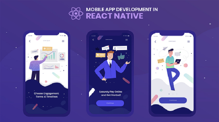 What are the processes to build a React Native app