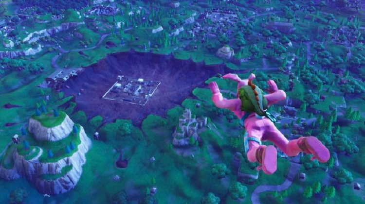Secret hatches, big eggs, and missile silos: what's going on with Fortnite's map?