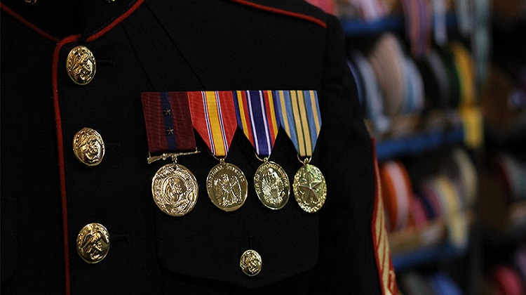 Military Medals Mounted